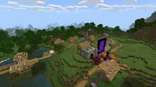 Minecraft zombie village