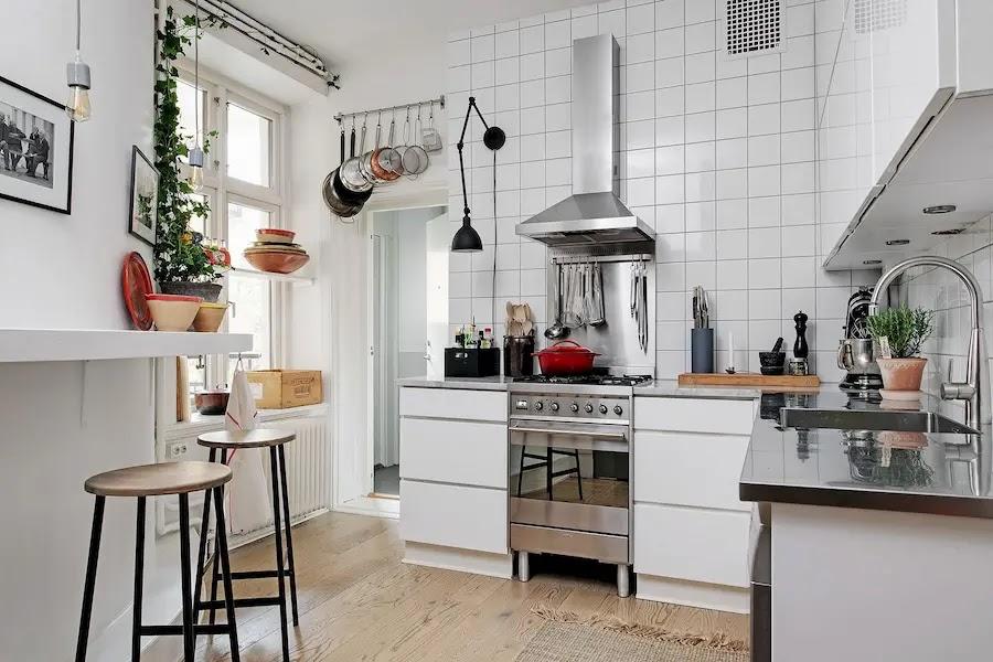 cocina antigua decorada