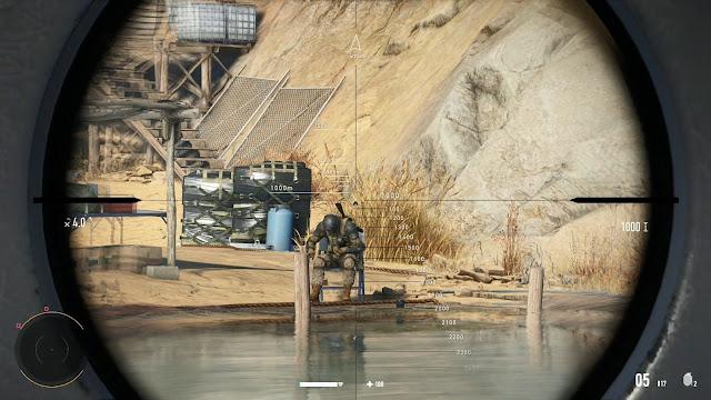 Mira de francotirador  Sniper Ghost Warrior Contracts 2 Elite Edition