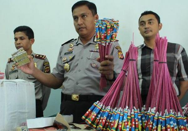 Kepolisian Resor Indramayu 3,6 Juta Petasan