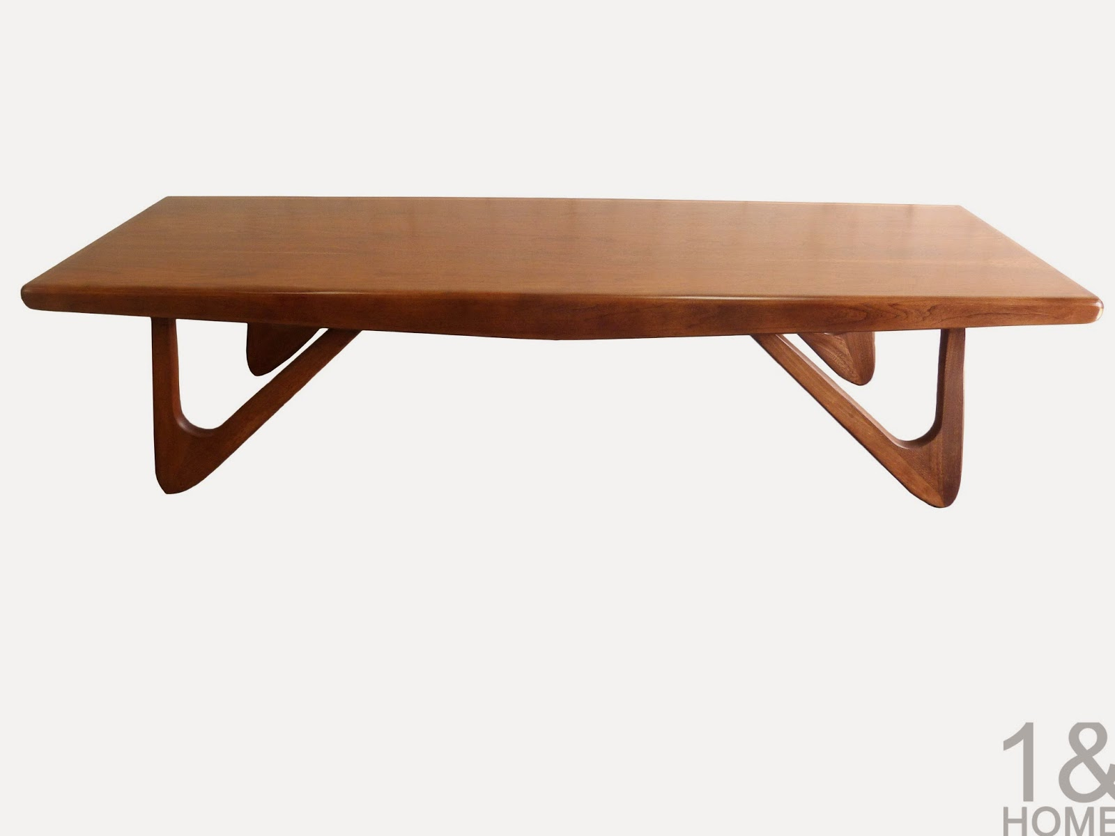 Adrian Pearsall Mid-Century Modern Boomerang Coffee Table for Craft Associates