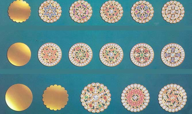 Rajputi Ornaments Rakhdi Borla Design Culture Of