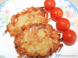 Tocinei de cartofi cu rosii cherry reteta,