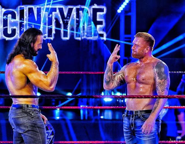 Heath Slater feltűnt a tegnap esti RAW-n