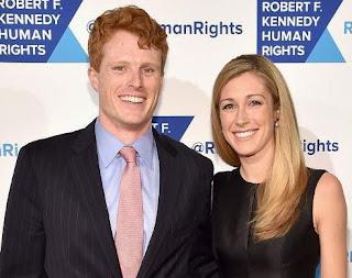 Lauren Anne Birchfield with her husband Joe Kennedy III