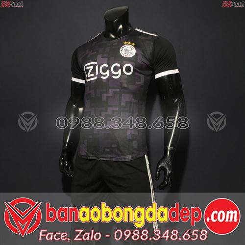 Áo Ajax Màu Đen 2020 Training 9