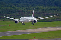 A Boeing 787 Dreamliner, one of a new generation of fuel-efficient commercial aircraft. (Credit: RS Deakin/flickr) Click to Enlarge.