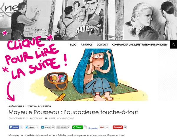 http://blog.unikness.fr/mayeule-rousseau-illustratrice