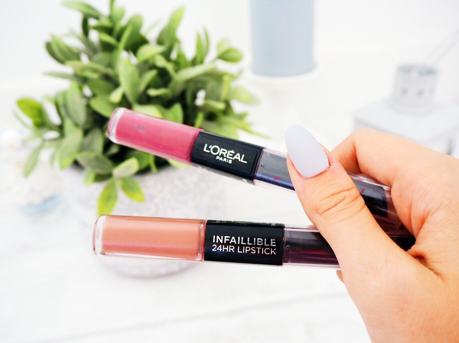 L'Oreal Paris Infallible Longwear 2-Step Lipsticks Review