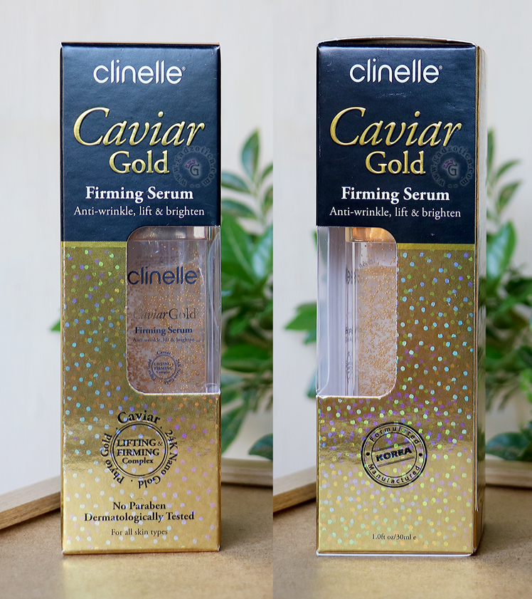 Review Clinelle Caviar Gold Firming Serum