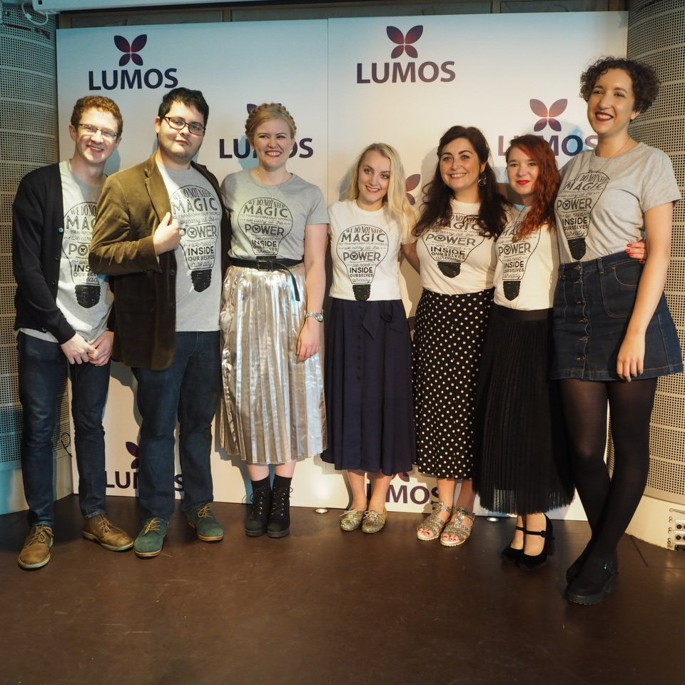 Lumos Charity Ambassadors with Evanna Lynch