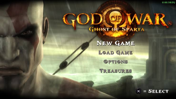 GOD OF WAR (GHOST OF SPARTA) 231MB PPSPP GAME DOWLOD