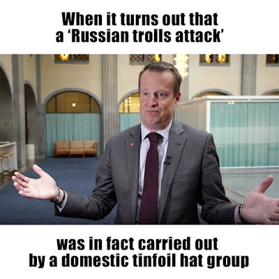 """Russia responded to the Swedish Minister's statement about """"Russian trolls"""" - E Hacking News Security News"""