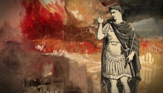 Ilustrasi Kekuasaan Absolut Kaisar Nero
