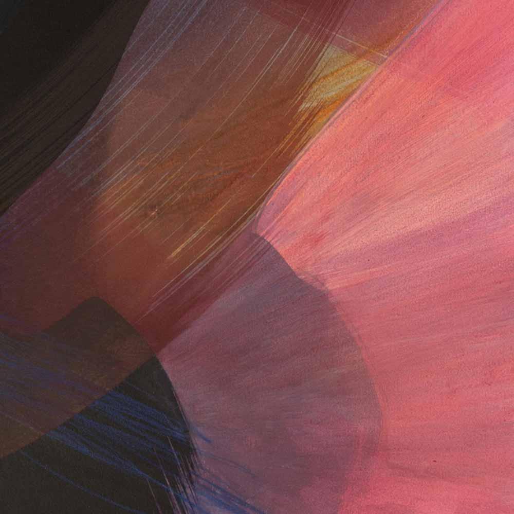 Aquarelle détail 6, 110 x 144 cm, mai 19 © Annik Reymond