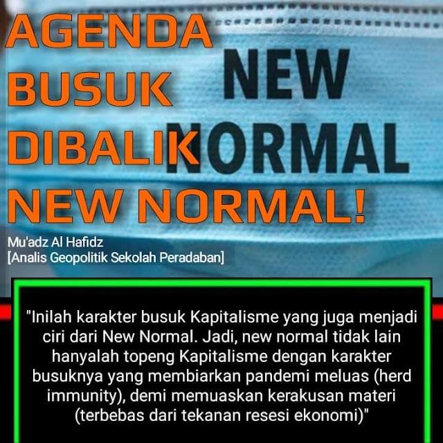 Jokowi yang mengatakan, rakyat harus mulai membiasakan diri hidup berdamai dengan Corona ternyata bukan hisapan jempol belaka, meskipun rakyat sangat berharap bahwa itu hanyalah lelucon presiden sebagaimana lelucon-lelucon lainnya.