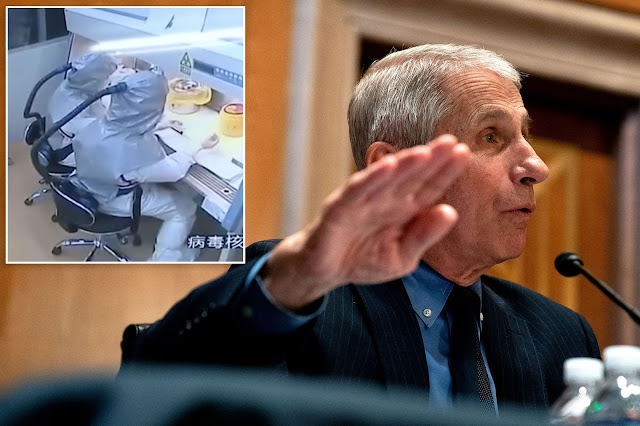 China should release medical records of sick Wuhan lab workers, Fauci says