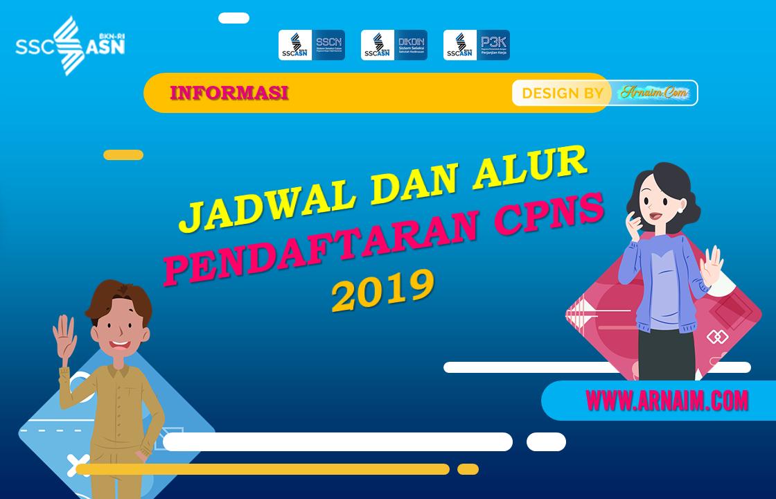 Arnaim.com - Jadwal dan Alur Pendaftaran CPNS 2019