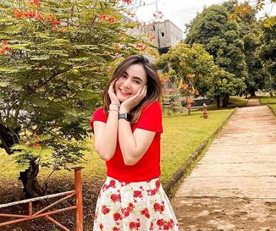 Moniq Crasivaya pemeran Sukma Dewi di Kembalinya Raden Kian Santang (KRKS)