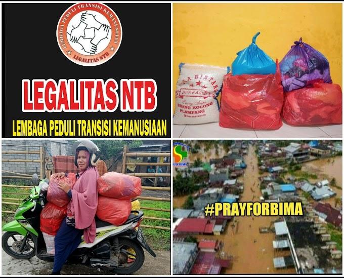 Legalitas NTB Fasilitasi Bantuan Sosial Untuk Korban Banjir Bima