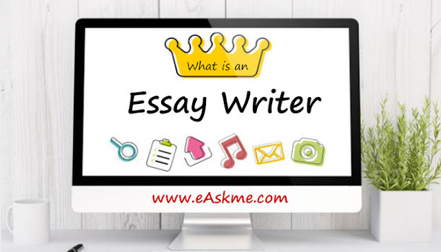 What is an Essay Writer?: eAskme