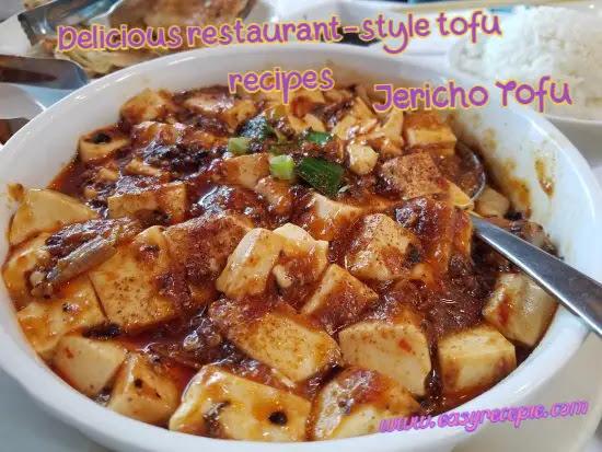 Delicious Tofu Recipes - Jericho Tofu