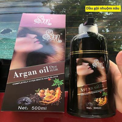 Hướng dẫn sử dụng dầu gội phủ bạc sin hair