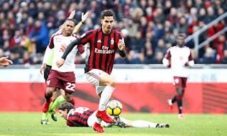 مشاهدة مباراة ميلان وتورينو بث مباشر | اليوم 09/12/2018 | الدوري الايطالي Milan vs Torino live