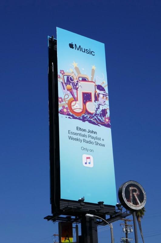 Apple Music Elton John billboard
