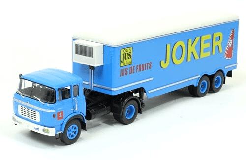berliet tr 12 1/43 joker, coleção caminhões articulados altaya, coleção caminhões articulados planeta deagostini, coleção caminhões articulados 1:43