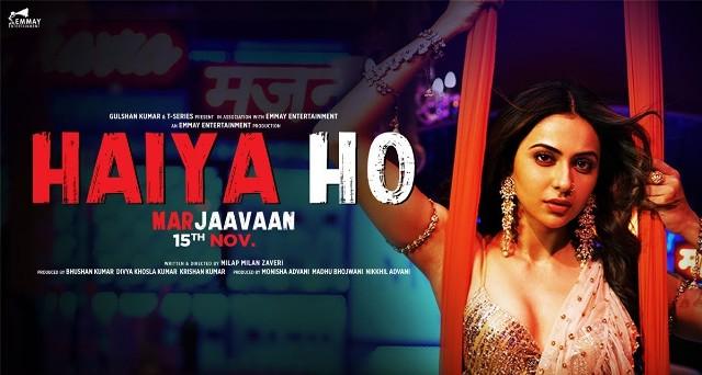 Haiya Ho Lyrics - Marjaavaan