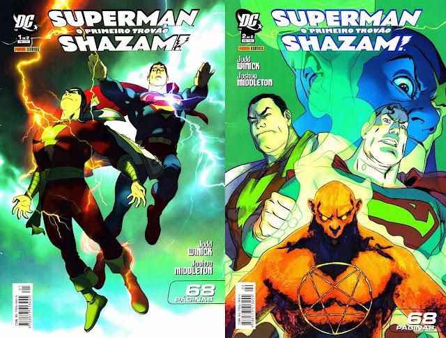 SUPERMAN & SHAZAM - O PRIMEIRO TROVÃO (2006)