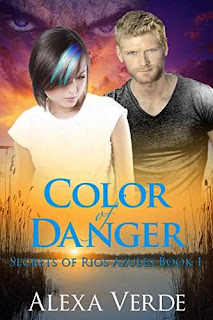 Color of Danger: Christian Multicultural Romantic Suspense by Alexa Verde