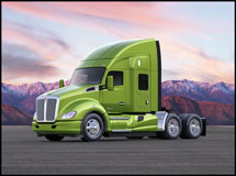 Kenworth T680 with 52 Inch Mid-Roof Sleeper