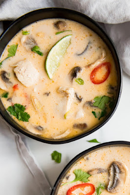 Best Ever Tom Kha Gai Soup (Thai Coconut Chicken Soup, Whole30, Paleo)