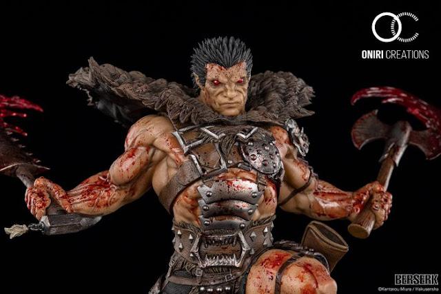 Oniri Creations muestra su estatua de Zodd The Immortal, de Berserk.