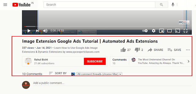 YouTube New UI Update