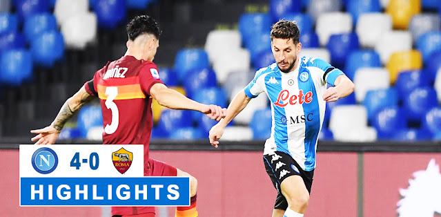 Napoli vs Roma – Highlights