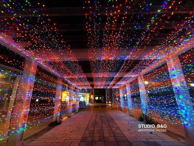 Χριστουγεννιάτικο χρώμα στο Ναύπλιο εν όψει των εορτών
