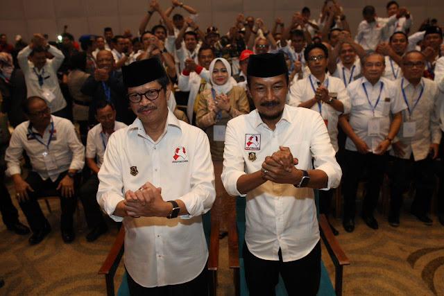 """Yel-yel IYL-Cakka """"Rakyat Bersatu Tak Bisa Dikalahkan"""" Menggema di Sheraton"""