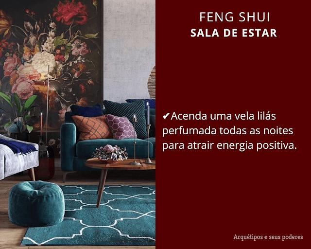 Sala de estar Feng Shui