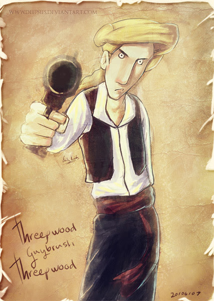 Guybrush Threepwood de Monkey Island