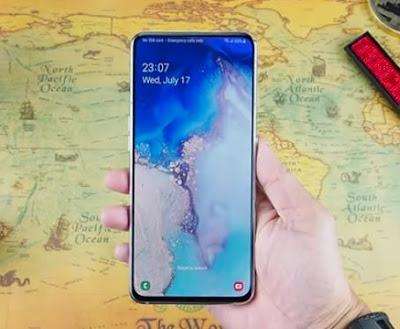 Spesifikasi Layar Samsung Galaxy A80