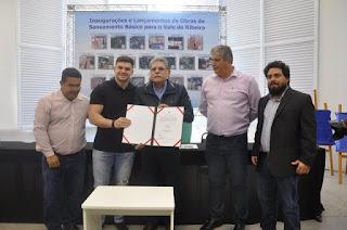 Jacupiranga recebe investimento de R$ 480 mil para coleta e afastamento de esgoto