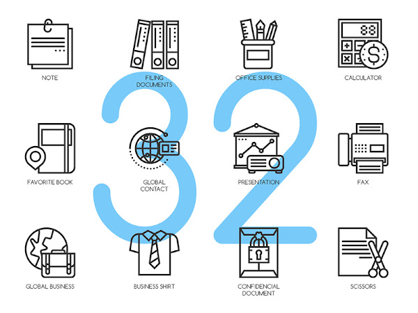 Download 32 Conecpt Line Icons Free
