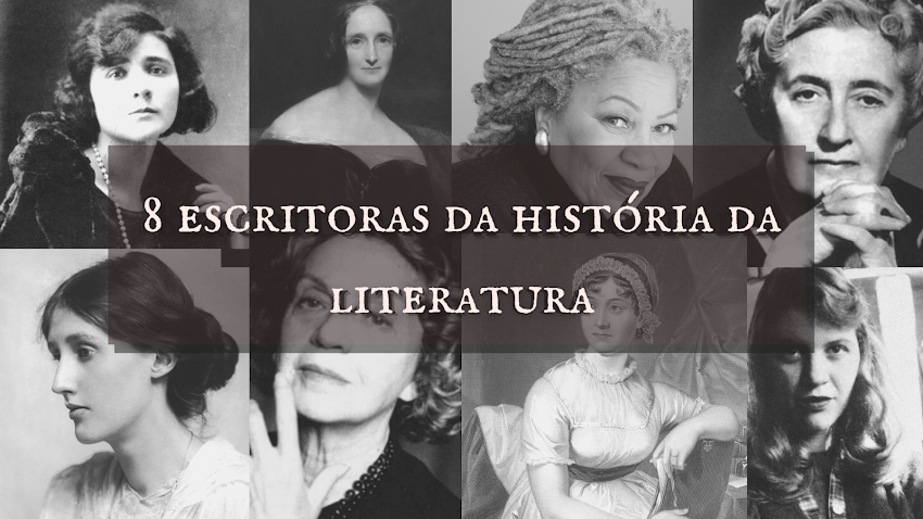 8 grandes escritoras da história da literatura