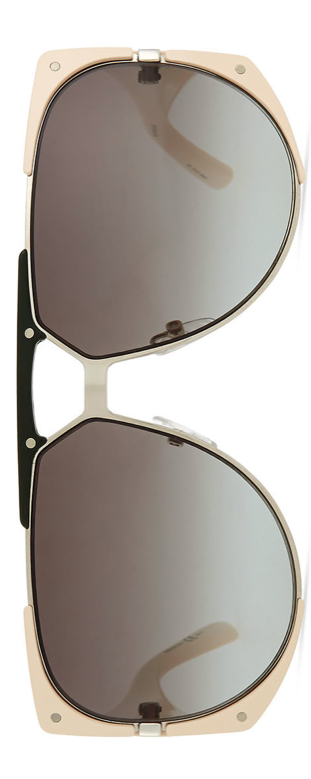Dior  Enigmatic Plastic/Metal Sunglasses Cream