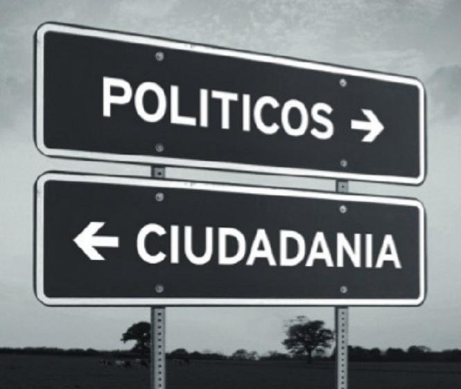 La grieta que duele: políticos vs. Ciudadanos