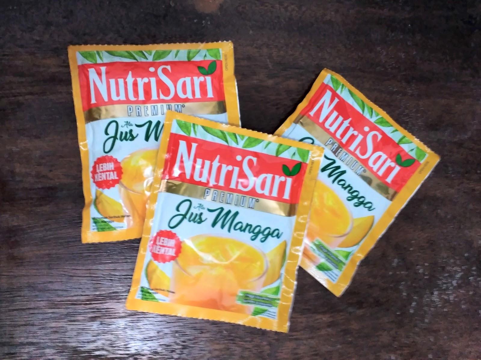 Sesukamu: Nutrisari Jus Mangga Premium