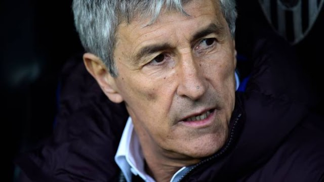 Setien: Valencia probably deserved more in the first half & we really were poor